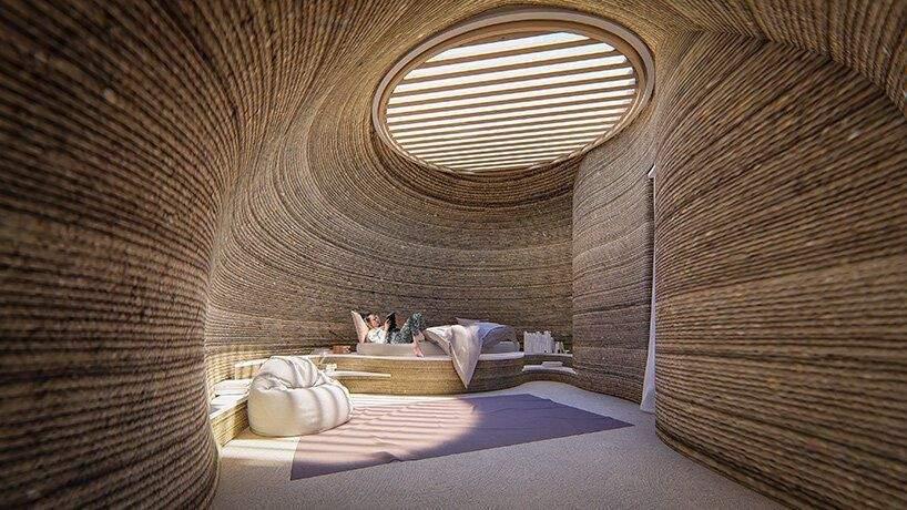 Внутрішній простір споруди / Фото Designboom