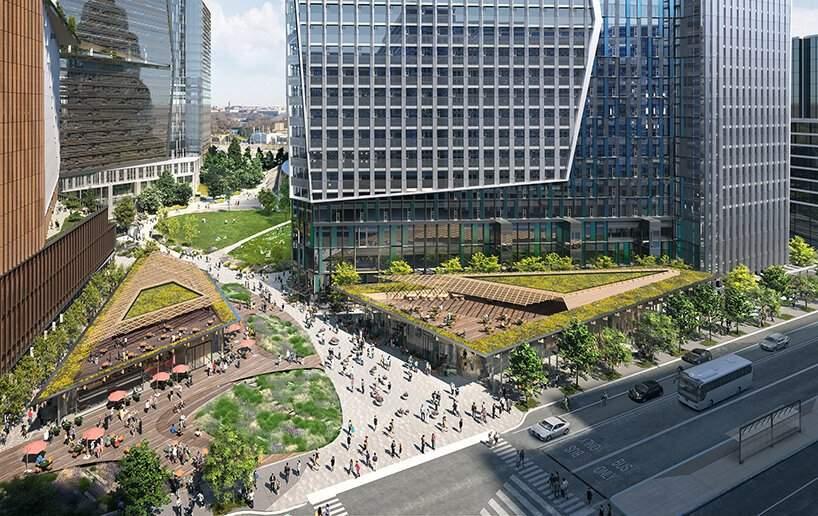 Будівля матиме 22 поверхи / Фото Designboom