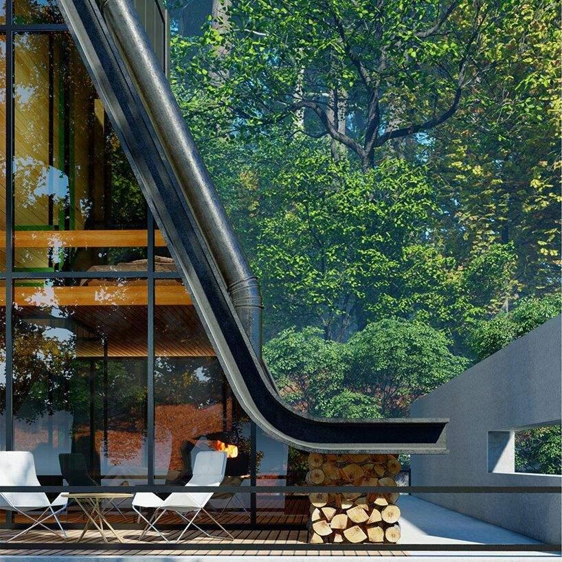 Скляний фасад, на чудовий вид / Фото Beautiful life
