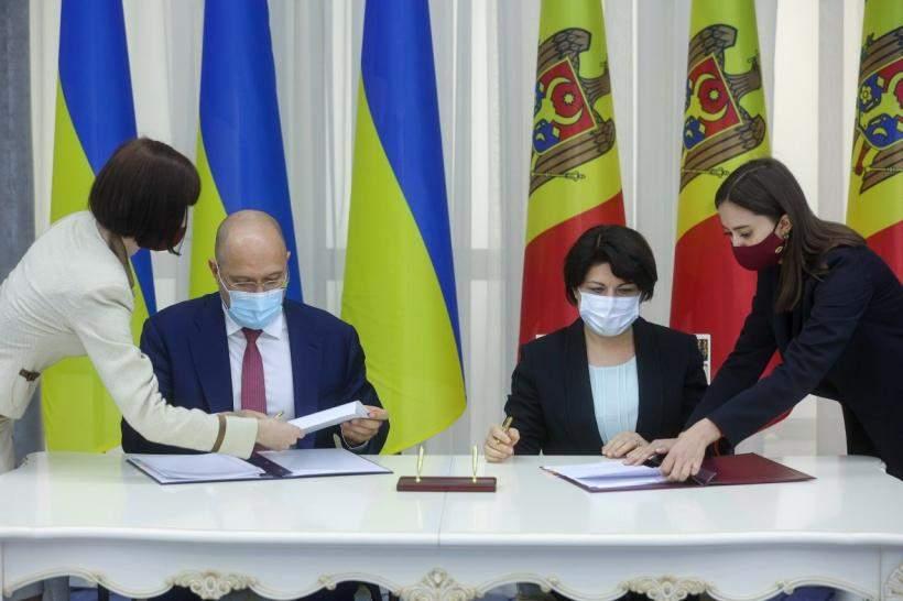 Шмигаль і прем'єрка Молдови схвалили зміни до торговельної угоди