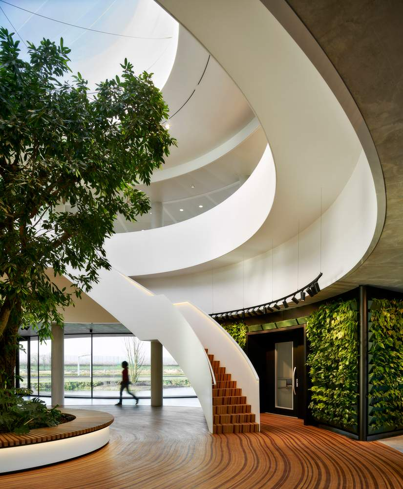 Атріум – живе серце будівлі / Фото Archdaily