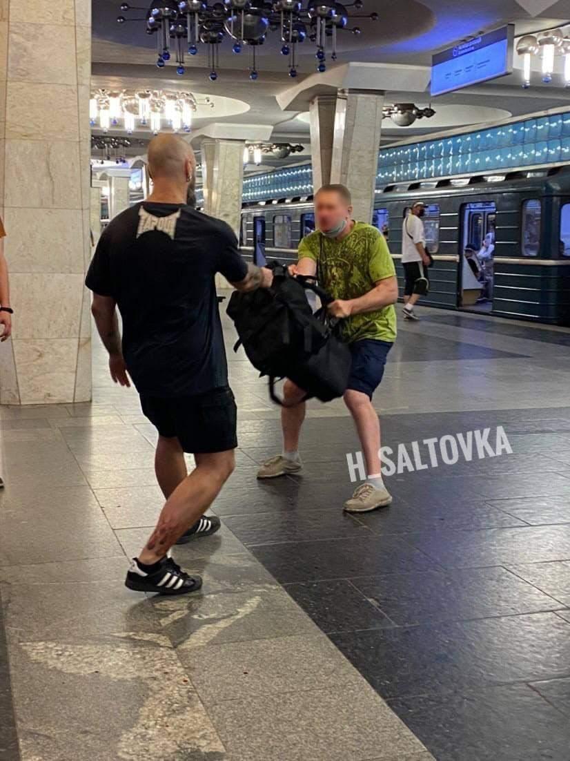 У Харкові побили пасажира Рюкзак Новини Харкова