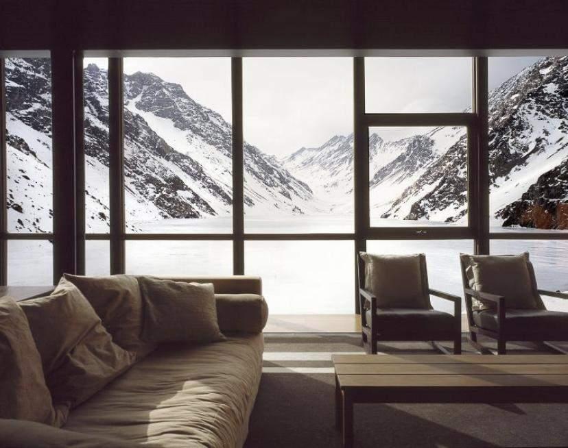 Гостиная с панорамным видом