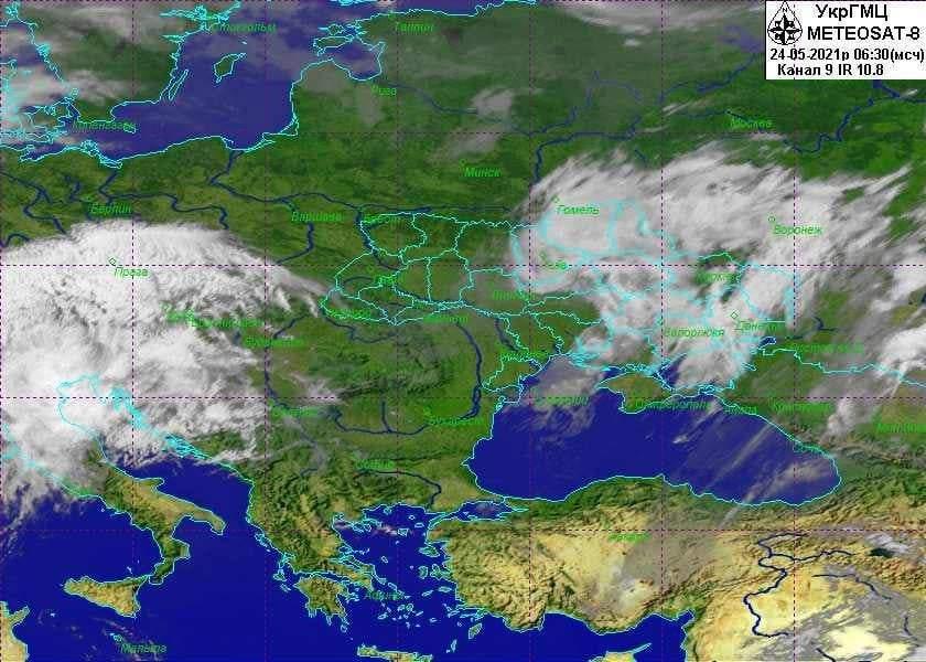 В Україні вирує циклон: