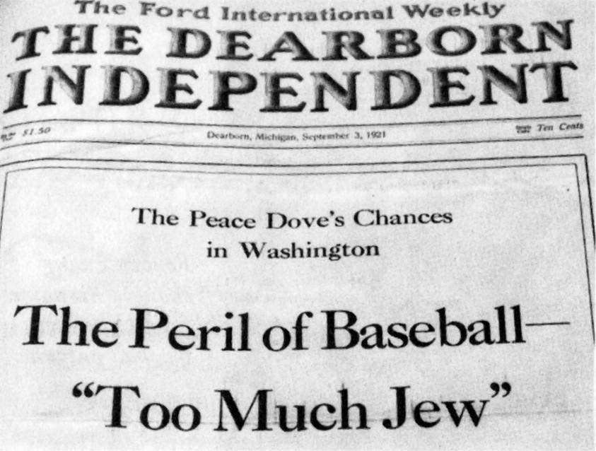 Газета друкувала антисеміські статті