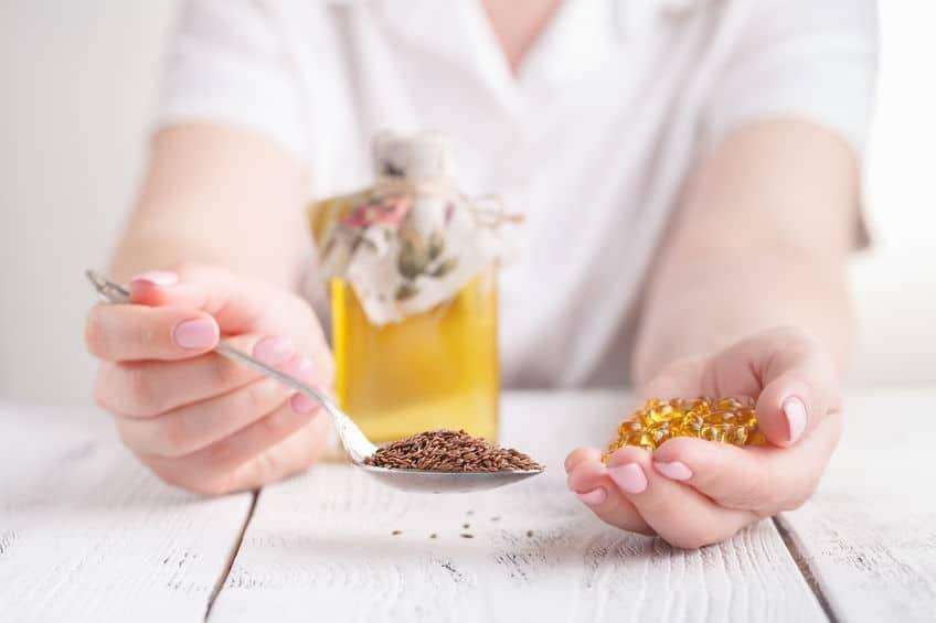 Вміст поживних речовин в лляній олії