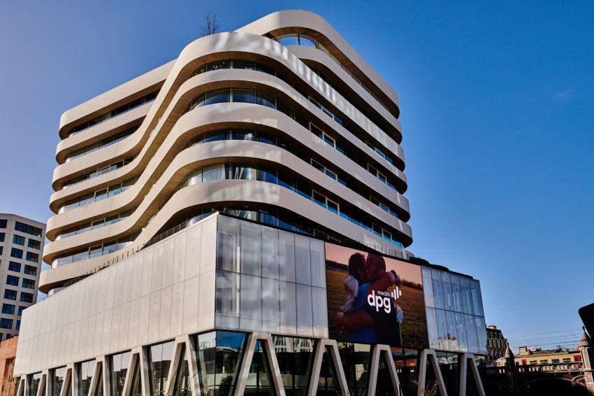 Видання DPG Media працює також у Антверпені / Фото Inhabitat