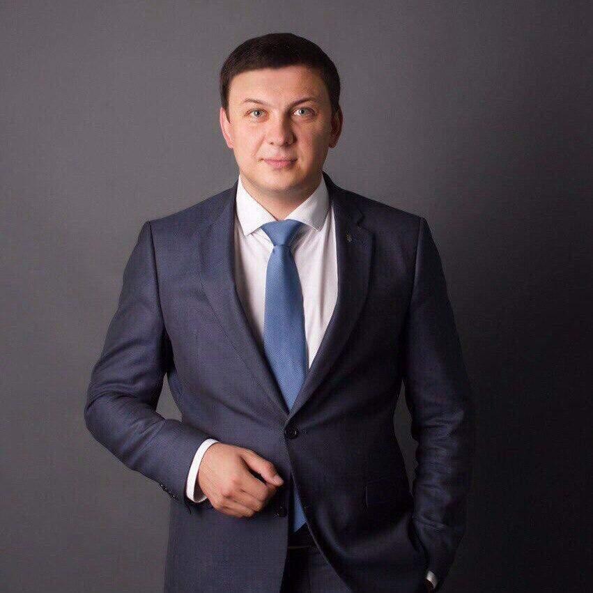Віталій Жеганський кандидат в мери Дніпра