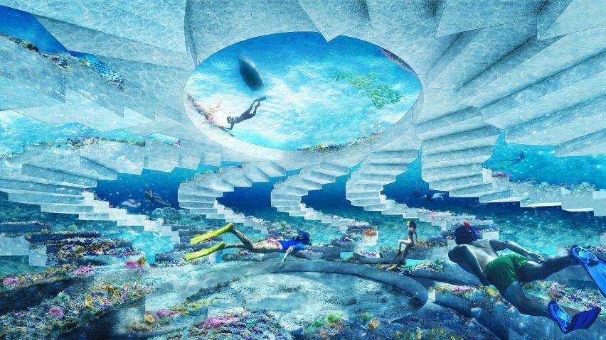 У проєкті використають штучний риф / Фото Deezen
