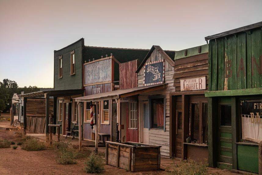 Дивовижні будинки ніби занурюють  Wild West / Фото New York Post