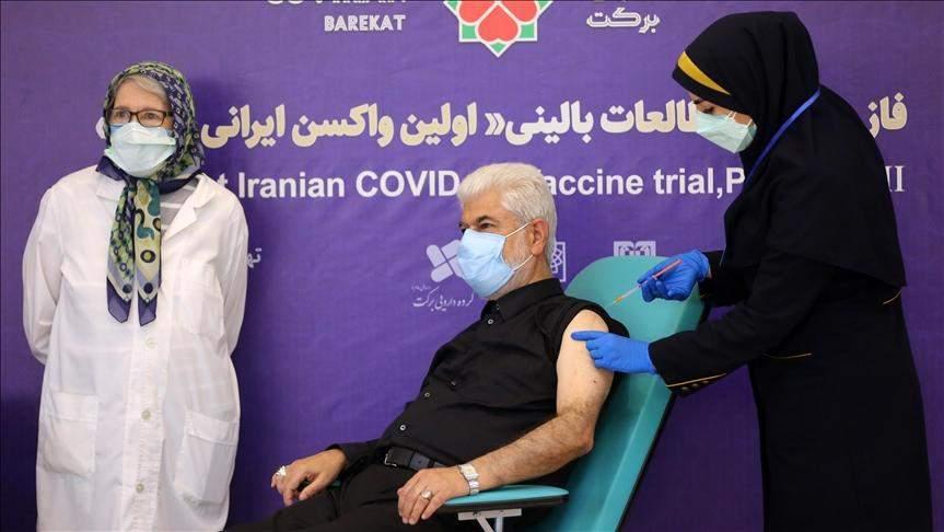 вакцинація іран