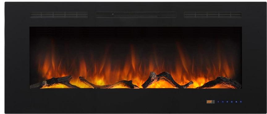На фото електрокамін Royal Shine 50 (В * Ш * Г мм – 1327 x 450 x 160). Детальніше можна дізнатися на фірмовому сайті royal-flame.com.ua