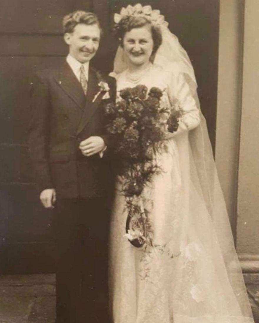 Весільне фото Мела і Віри