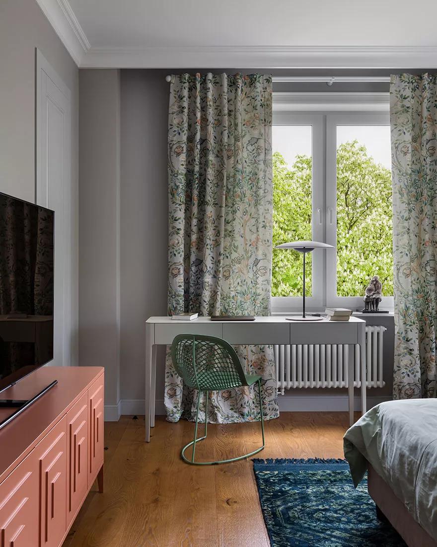 Дух 60-х: інтелігентний інтер'єр квартири у центрі Мінська