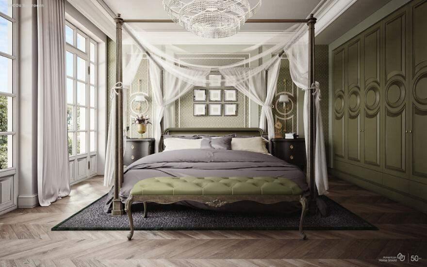 інтерєр спальні
