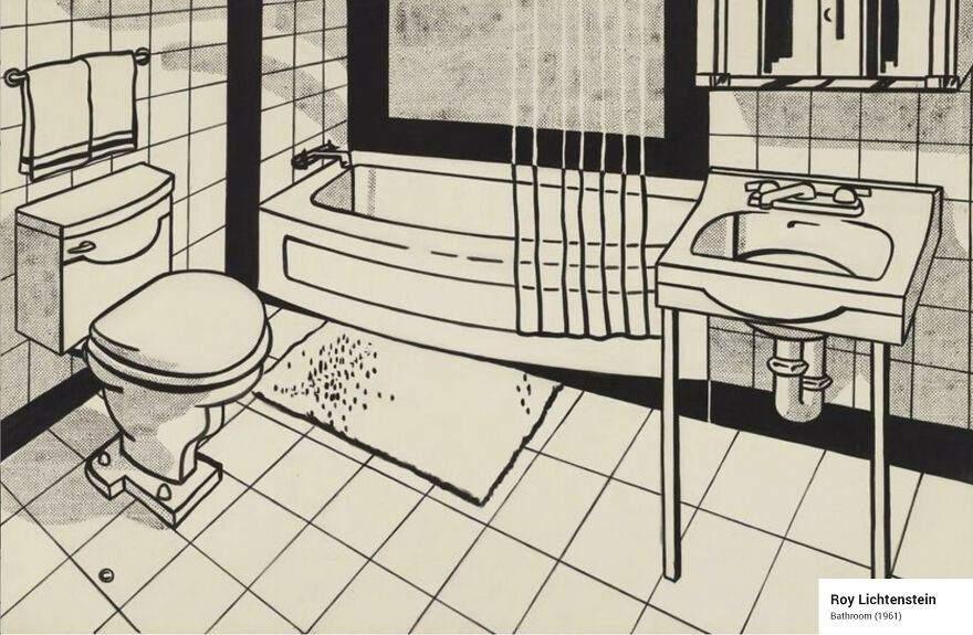 лихтенштейн ванная комната