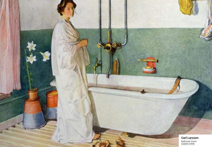 Ларссон ванная комната