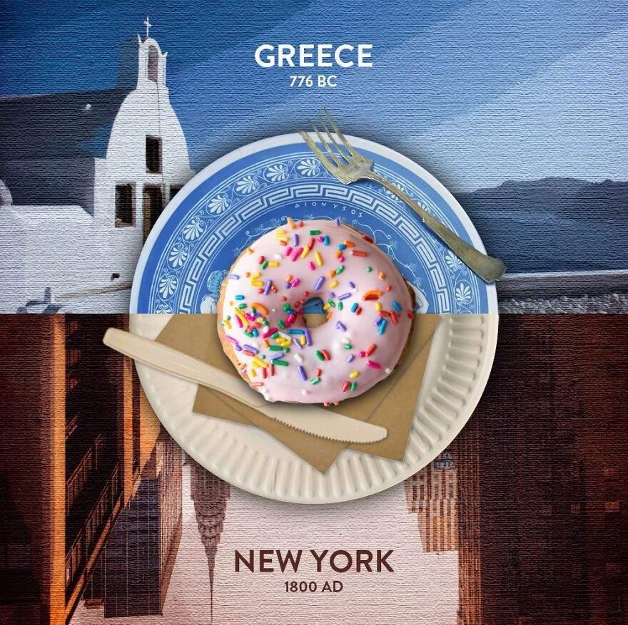 Грецькі пончики