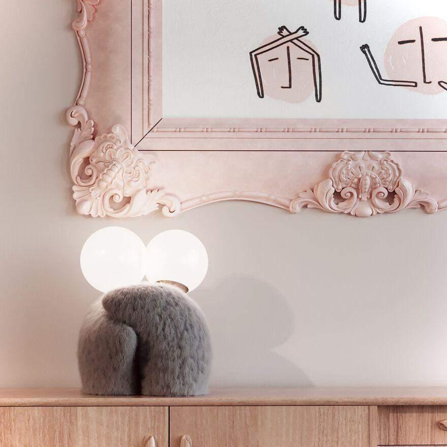Лампи світяться, коли дві фігурки з'єднані