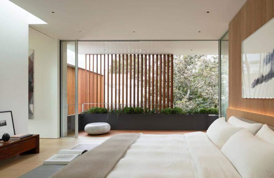 Деревянные панели создают собственный микроклимат