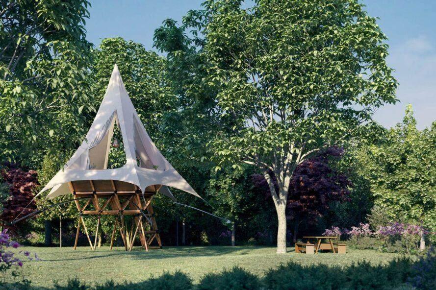 Такий дім рай для екотуристів / Фото Inhabitat