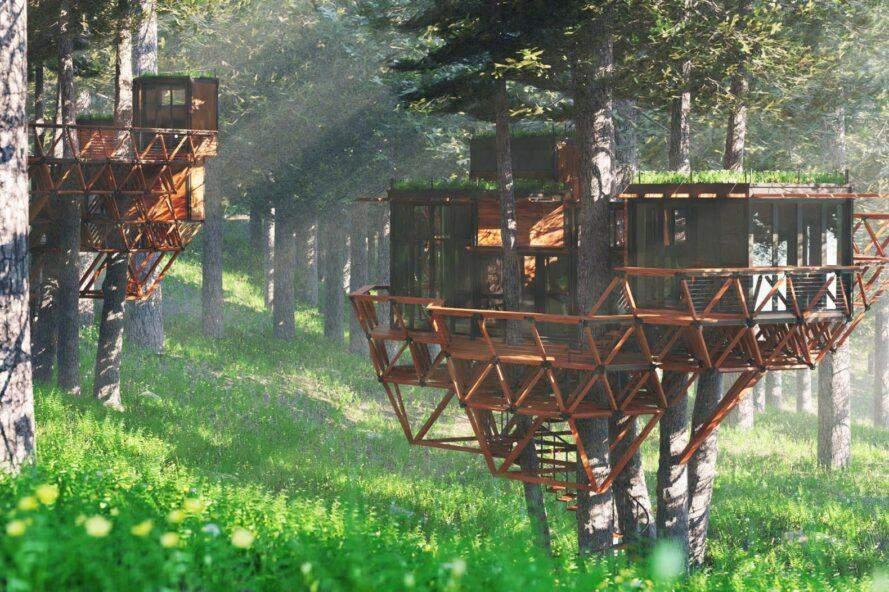 Вид одного із можливих поселень / Фото Inhabitat