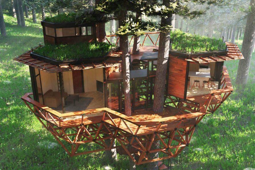 Крихітний та екологічний дім  / Фото Inhabitat