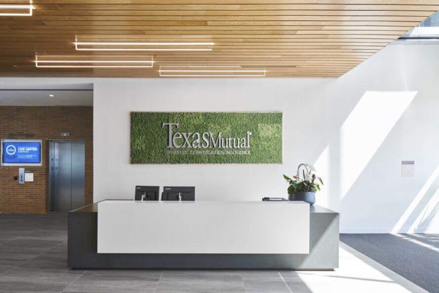 Логотип компанії теж зробили з використанням екоматеріалів