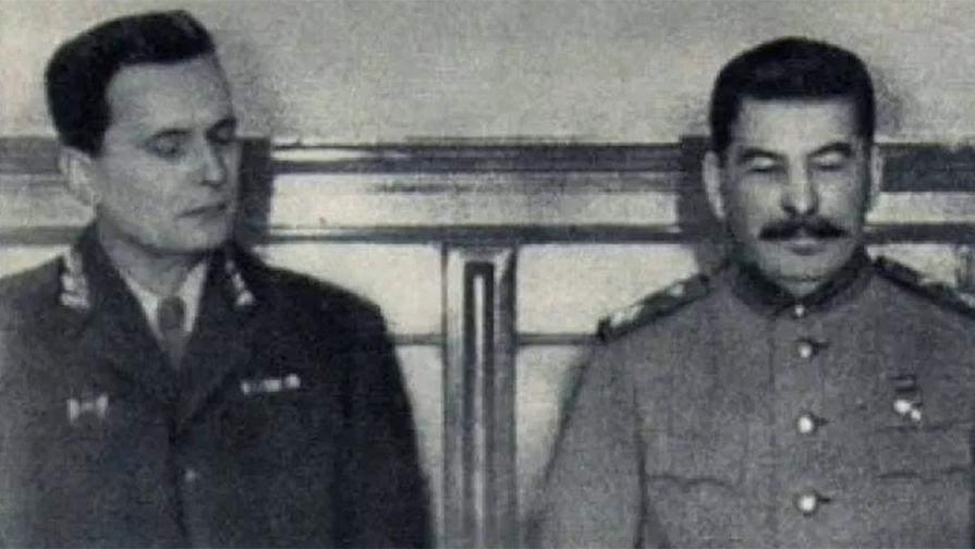Йосип Броз Тіто і Йосип Сталін