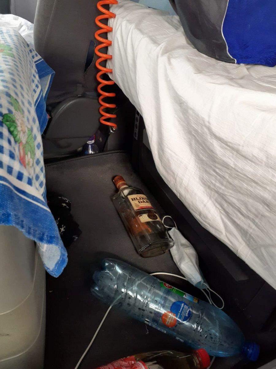 Випив за кермом пляшку горілки: у Польщі затримали п'яного львівського далекобійника – фото