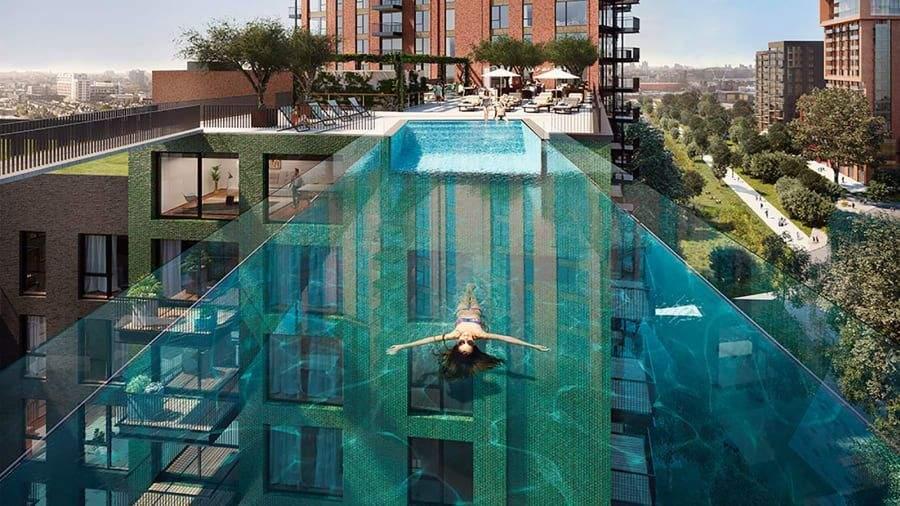 бассейн в лондоне