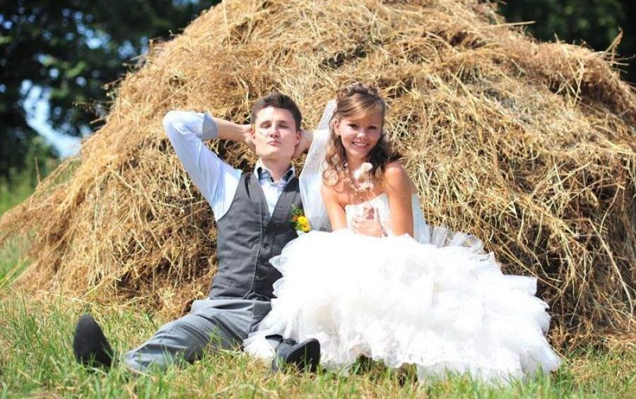 Весілля молодої пари