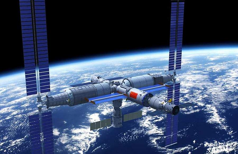 Китайська космічна станція Тяньгун