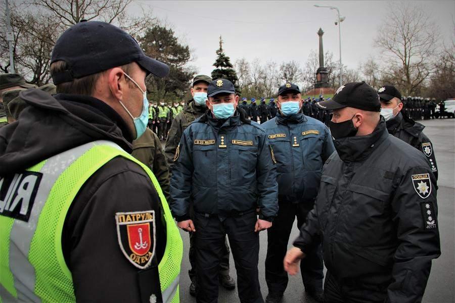 поліція спільно з НАцгвардією патрулюватиме в Одесі