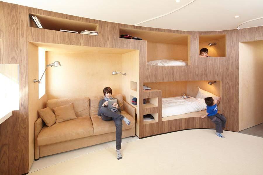 Ліжка, які економлять місце