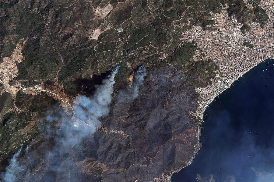 Пожежі в Мармарисі
