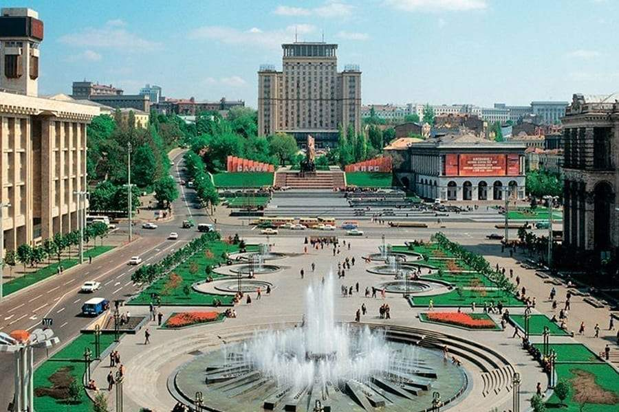 Київ, 30 років Незалежності, як змінився Київ за 30 років , Майдан Незалежності, СРСР