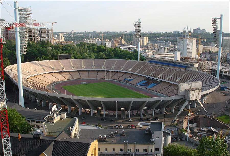 Стадіон Олімпійський,  Київ, 30 років Незалежності, як змінився Київ за 30 років