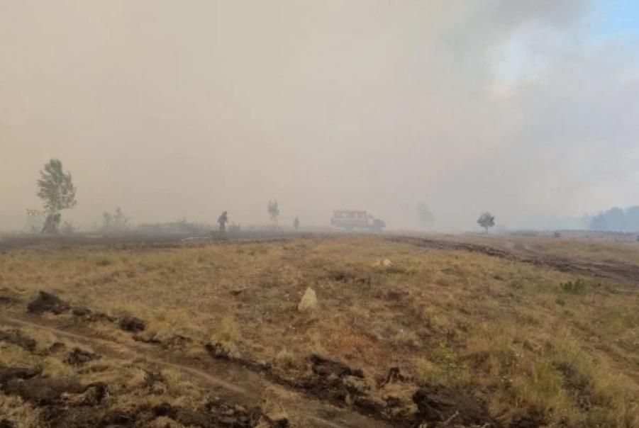 Лісові пожежі у Росії