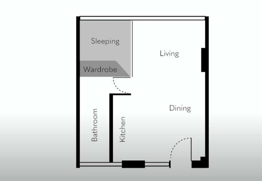 Так виглядає планування квартири