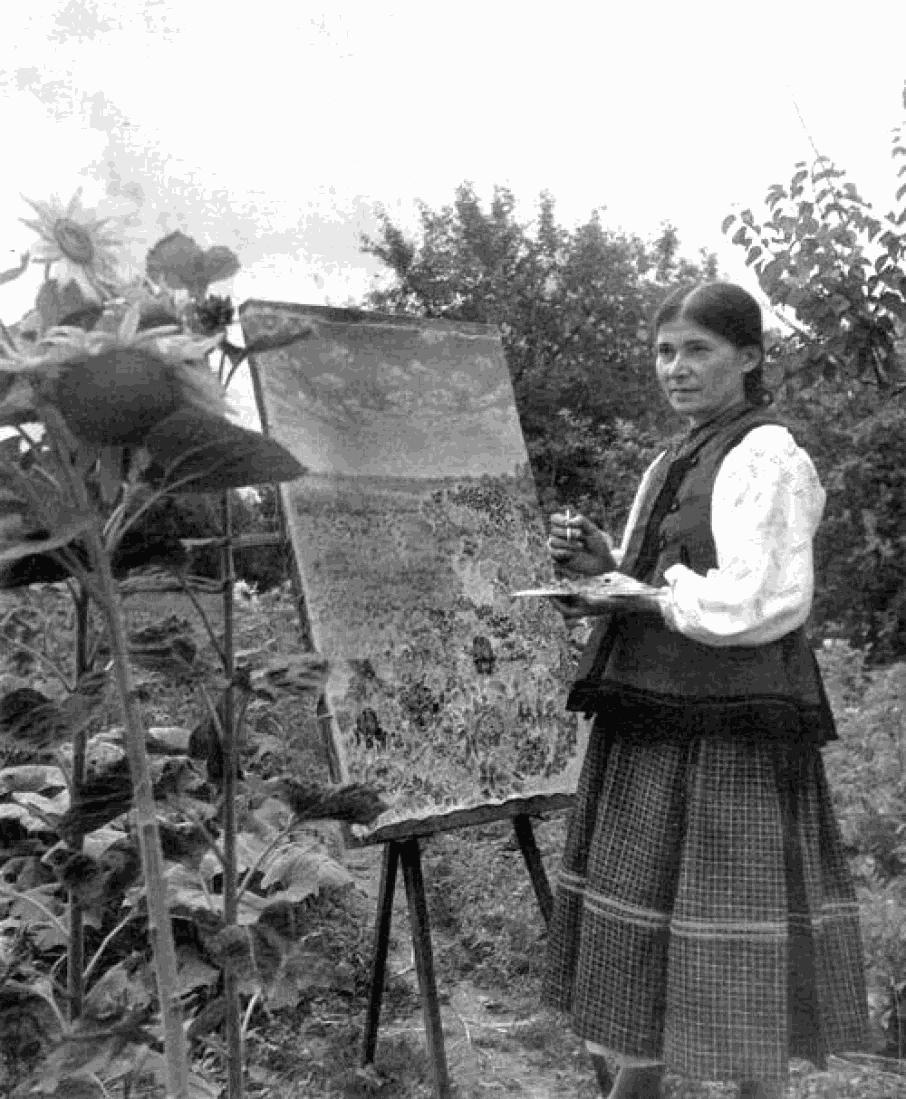 Google, Дудл, Катерина Білокур, художниця, 120 років, картини, мистецтво, наївне мистецтво