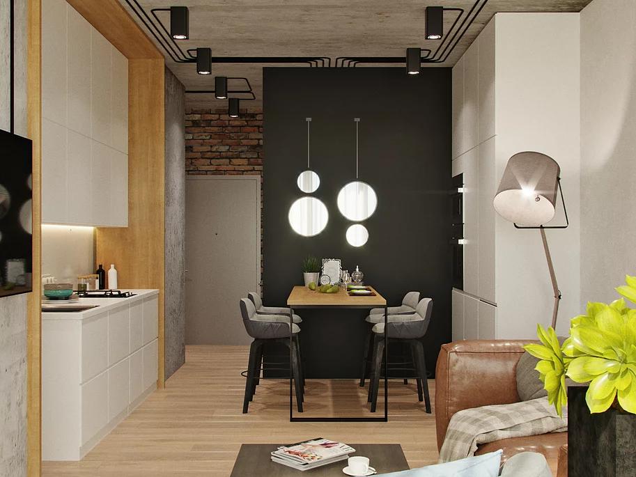 Планування квартири на 46 квадратних метрів: ідеї