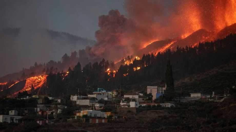 Вулкан у Гватемані