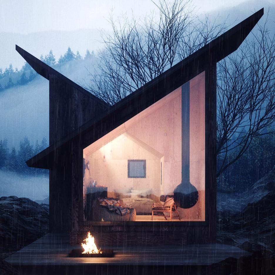 Модульний дім – чудовий спосіб для відпочинку, роботи та ізоляції / Фото Dezeen