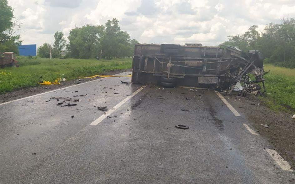 ДТП Бензовоз аварія Вантажівка Лобове зіткнення