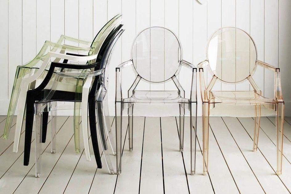 Прозрачные стулья пользуются бешеной популярностью