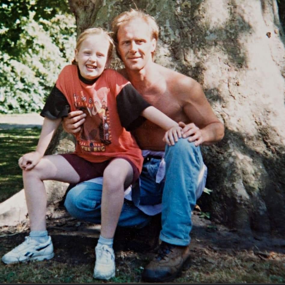 Адель з батьком