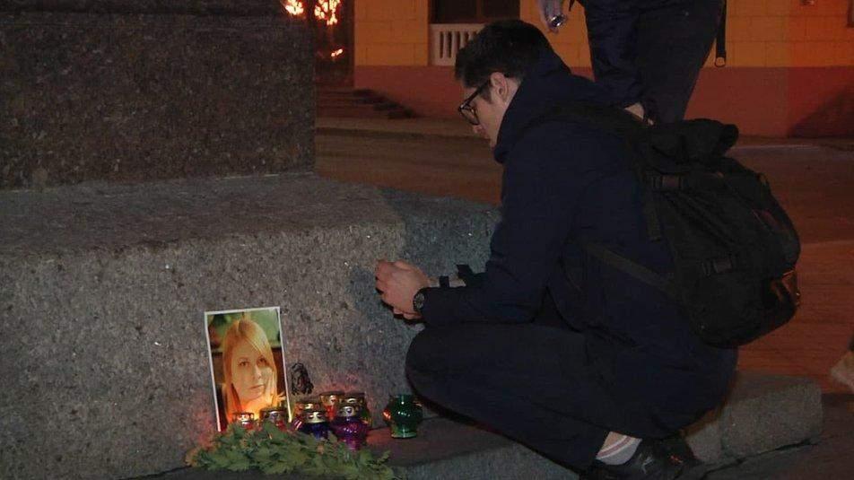 Акція протесту Хто вбив Катю Гандзюк в Одесі