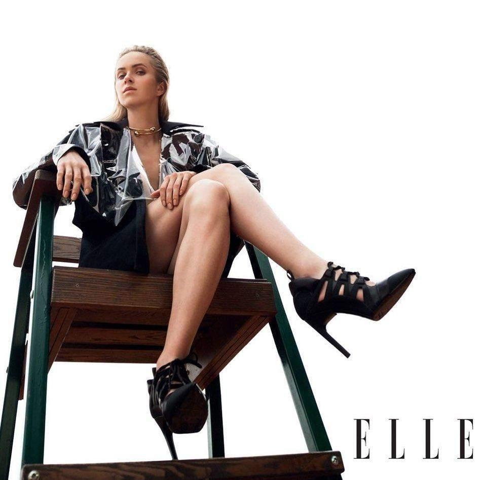 Еліна Світоліна часто знімається у глянцях