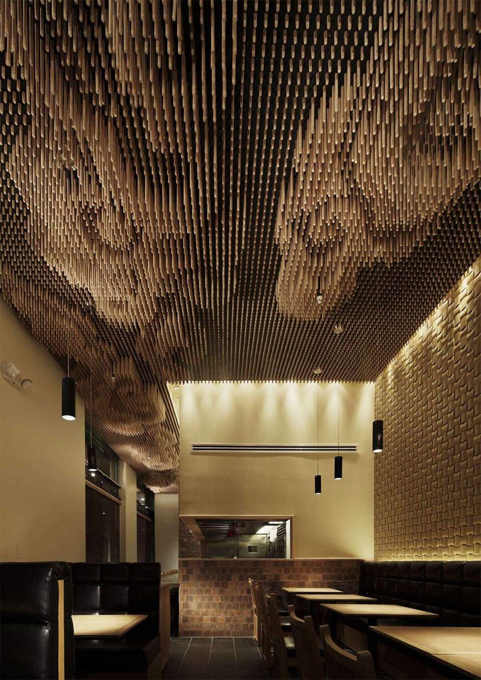 Потолок завораживает посетителей